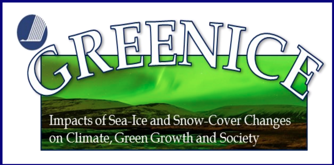 GREENICE – Impacts of Sea-Ice and Snow-Cover Changes on Climate, Green Growth, and Society
