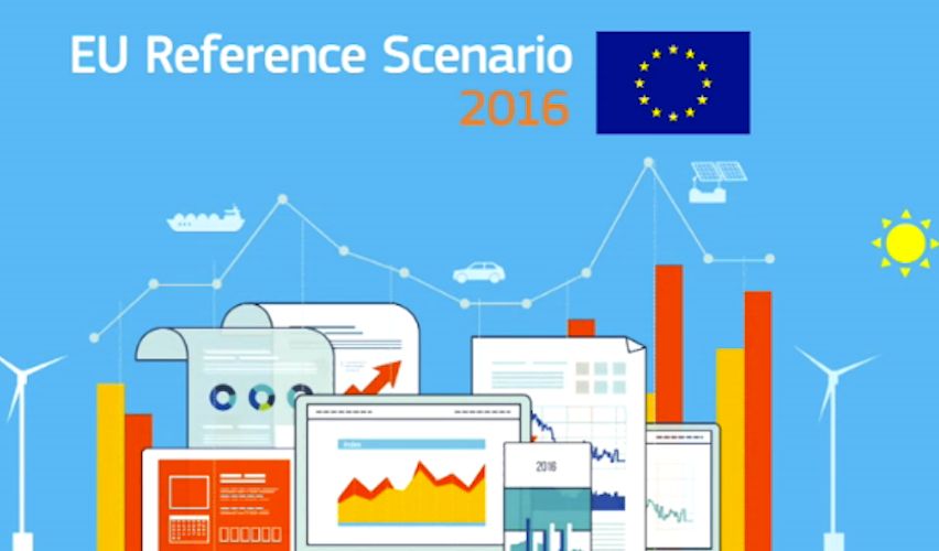 Energy Modeling: exploring the EU Reference Scenario 2016