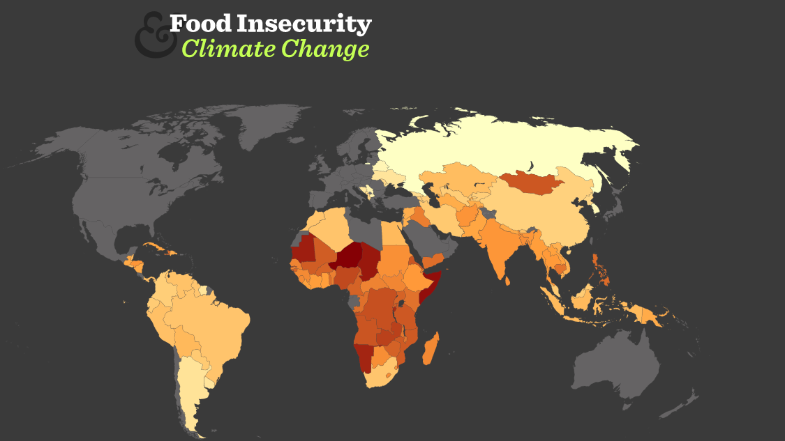 Food Insecurity interactive tool