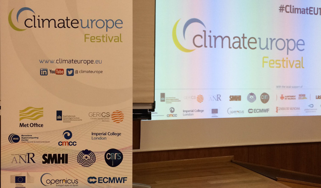 Climateurope Festival 2017:  climate information at your service