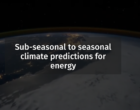 S2S4E Sub-seasonal to Seasonal climate predictions for Energy